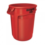 Brute Red Round 32 Gal Containers