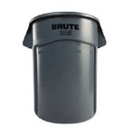 Brute Gray 44 Gal Utility Container w/ Venting Channels