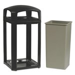 LANDMARK SERIES Sable Classic Dome 50 Gal Top Container