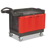 Cart with 2 Door Cabinet, Small