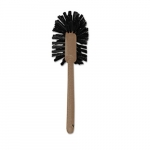 Brown Plastic Handle 17 in. Toilet Bowl Brush