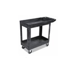 Black Heavy-duty Ultility Rolling Cart Rated for 500 Pounds