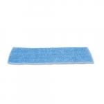 Blue Standard Microfiber Damp Room Mops 18X5