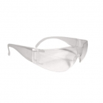 Mirage™ Safety Glasses, Clear Frame & Lens