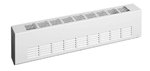 1800W Architectural Baseboard, Medium Density, 208 V, Silica White