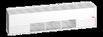 600W Sloped Architecture Baseboard, Low Density Unit, 208 V, Black