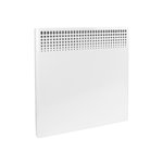 500W Convection Heater, 120V, Built-In Thermostat, White
