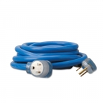 50-ft Welder Extension Cords, 250V,  Blue