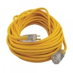 50-ft Polar/Solar Extension Cord, Yellow