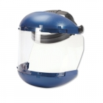 380 Series Ratcheting Headgear w/ Anti-Fog Faceshield, Blue