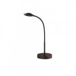 5W LED Gooseneck Desk Lamp, 300 lm, 4000K, Black