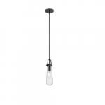 20W Beaker Series Mini Pendant Light w/ Clear Glass, Aged Bronze