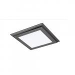 45W 2X2 LED Surface Mount Fixture, 3000K, Gunmetal