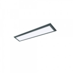 45W 1X4 LED Surface Mount Fixture, 3000K, Gunmetal