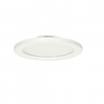 "16W 11"" LED Flush Mount, 3000K, White, Dimmable"