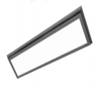 45W 2X2 LED Flat Panel, Dimmable, 3000K, Bronze