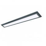"40W 48"" LED Flat Panel, Dimmable, 3000K, Bronze"