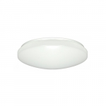 14-in 16.5W Flush Mount w/ Acrylic Lens, 1120 lm, 3000K, White