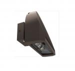32W LED Adjustable Arc Wall Pack, Bronze Finish, 5000K