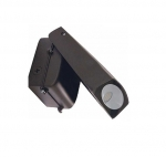 20W LED Adjustable Wall Pack w/Photocell, 5000K, Bronze Finish
