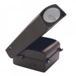 30W LED Adjustable Wall Pack, 5000K, Bronze Finish