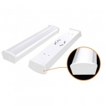 40W 4 Foot LED Utility Light Fixture, White, 3200 Lumens, 4000K