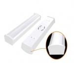 40W 4 Foot LED Utility Light Fixture, White, 3000K