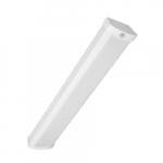 20W 2-ft LED Ceiling Wrap w/ Motion Sensor, 1600 lm, 4000K, White