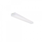 4 ft 38W LED Wide Strip Light, Dim, Connectible, 4829 lm, 4000K