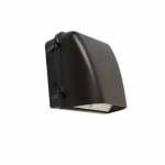 18W Small LED Wall Pack, 5000K, Bronze