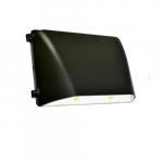 36W Large Full Cut Off LED Wall Pack, 5000K, Bronze