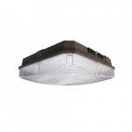 "10"" 40W LED Canopy Light, Dimmable, 4800 lm, 5000K, Bronze"