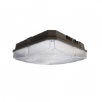 60W LED Canopy Light, Dimmable, 7200 lm, 5000K, Bronze