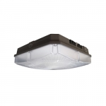 70W LED Canopy Light, Dimmable, 8400 lm, 4000K, Bronze