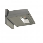 15W Area Light LED Wall Pack, Gray, 3000K