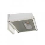 15W Area Light LED Wall Pack, White, 3000K