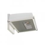 21W Area Light LED Wall Pack, White, 3000K