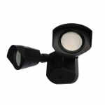 20W LED Security Light, Dual Head, 1900 lm, 4000K, Black