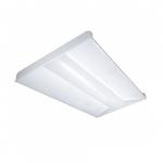 40W LED 2 x 4 Troffer Light Fixture, 3500K