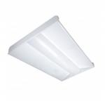 65W LED 2 x 4 Troffer Light Fixture, 3500K