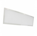 37W LED 1 x 4 Flat Panel Light Fixture, 3500K
