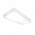 50W 2 x 4' LED Flat Panel Light Fixture, 3500K