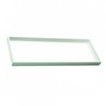 1X4 LED Flat Panel Frame Kit, White