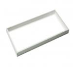 2X4 LED Flat Panel Frame Kit, White