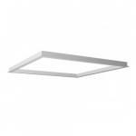 2X2 LED Flat Panel Flange Kit Accessory, White