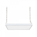 2 ft 165W LED Linear High Bay Fixture, Dimmable, 21450 lm, 4000K