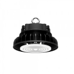 200W LED UFO High Bay Fixture, 26000 lm, 5000K, Black