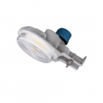 40W LED Area Light w/ Photocell, Dimmable, 6400 lm, 120V-277V, CCT Selectable, Bronze