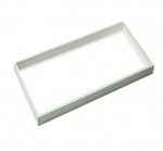 2X4 LED Flat Panel Fixture Frame Kit, White