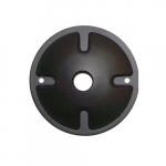 1 Light LED Wall Mounting Plate, Bronze